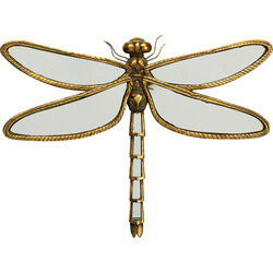 Wall Decoration Dragonfly Mirror 47cm