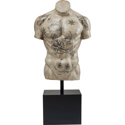 Deco Object Torso Tattoo