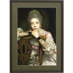 Picture Frame Incognito Sitting Countess 112x82cm