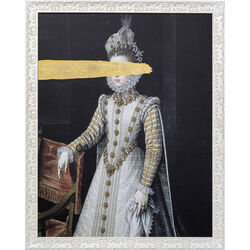 Oil Painting Frame Incognito Baroness 100x80