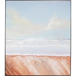 Acrylic Painting Frame Beach View 150x130cm