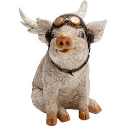 Deco Object Aviator Pig