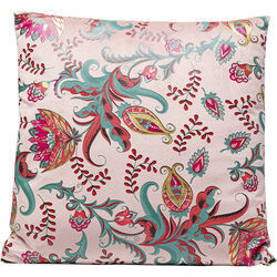 Cushion Floral Rose 45x45cm