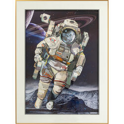 Picture Frame Art Astronaut 100x75