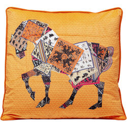 Cushion Knight Horse 50x28cm