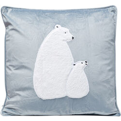 Cushion Polar Bear Family 45x45cm