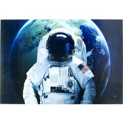 Picture Glass Astronaut 120x180