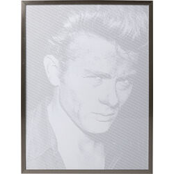 Quadro Frame Idol Pixel James 104x79cm