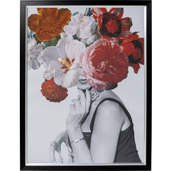 Picture Frame Flower Lady 117x152cm