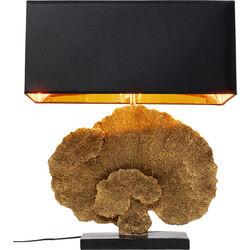 Lámpara mesa Coral oro