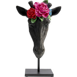 Deco Object Mask Giraffe Flower