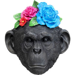 Wall Decoration Mask Monkey Flower