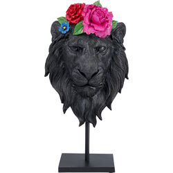 Deco Object Mask Lion Flower