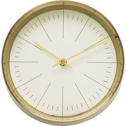 Wall Clock West Coast Gold Ø21
