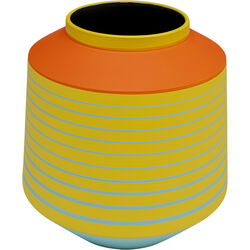 Vase Happy Day Yellow 21cm