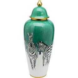 Deco Jar Zebras 63