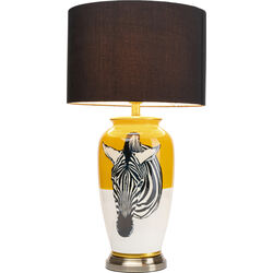 Table Lamp Zebra Yellow