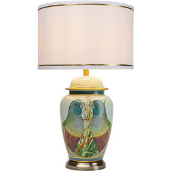 Table Lamp Parrot Couple