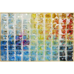 Deco Frame Rainbow Fields 100x150cm
