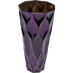 Vase Rhomb Purple 30cm