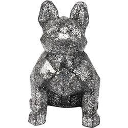 Deco Object Crystal Sitting Dog Big
