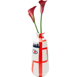 Vase Art Face Colore 38cm