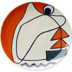 Dessert Plate Artist Ø20