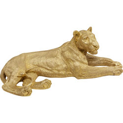 Deco Object Lion Gold 113cm
