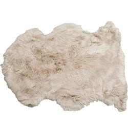 Pelle di agnello Heidi grigio 85x60cm