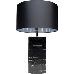 Table Lamp Rumba Marble Black