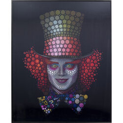 Picture Frame 3D Crazy Hatter 70x57
