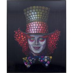 Picture Frame 3D Crazy Hatter 70x57cm