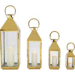 Lantern Giardino Gold (4/Set)