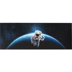 Picture Glass Man In Space 80x240