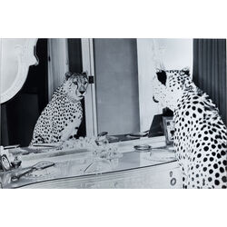 Picture Glass Metallic Gepard 100x150