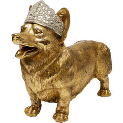 Deco Object Royal Standing Corgi