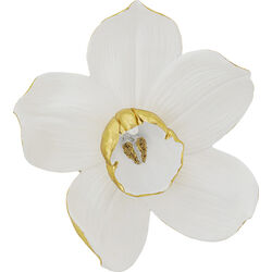 Wall Decoration Orchid White 44cm