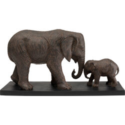 Deco Object  Elephant Family