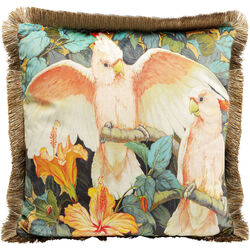 Cushion Parrots Life 45x45cm