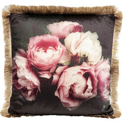 Cushion Blush Roses 45x45cm