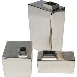 Vase Cubo (3/Set)