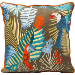 Cushion Exotic Parrots 45x45cm
