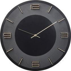 Orologio da parete Leonardo nero/oro 50