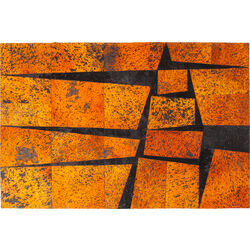 Carpet Blocks Orange 240x170cm