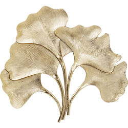 Wall Decoration Ginkgo Gold Big