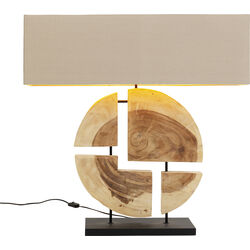 Table Lamp Geometrix Brown