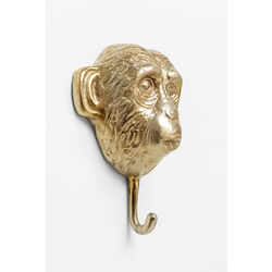 Perchero pared Monkey oro