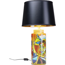 Table Lamp Graffiti