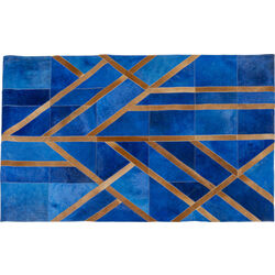 Carpet Lines Blue 170x240
