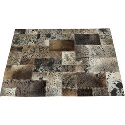 Tappeto Squares blu 170x240